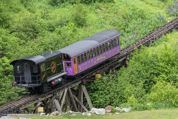 Photograph - Mount Washington Cog Railway Algonquin by Brian MacLean