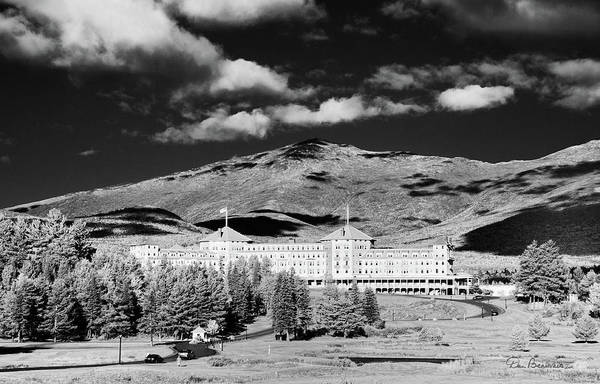 Photograph - Mount Washington Hotel 1078 by Dan Beauvais