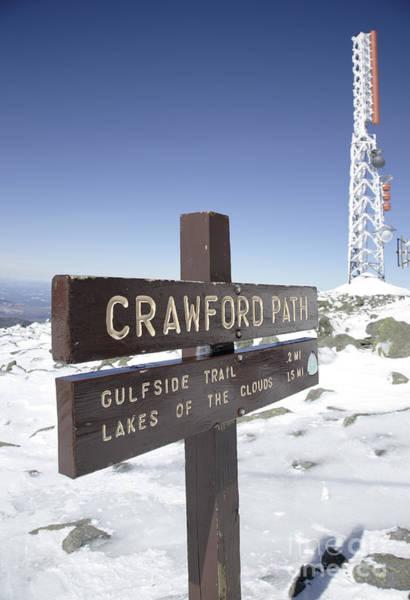 Photograph - Mount Washington New Hampshire - Crawford Path by Erin Paul Donovan