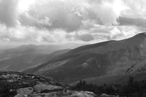 Photograph - Mount Washington Nh Black And White by Toby McGuire