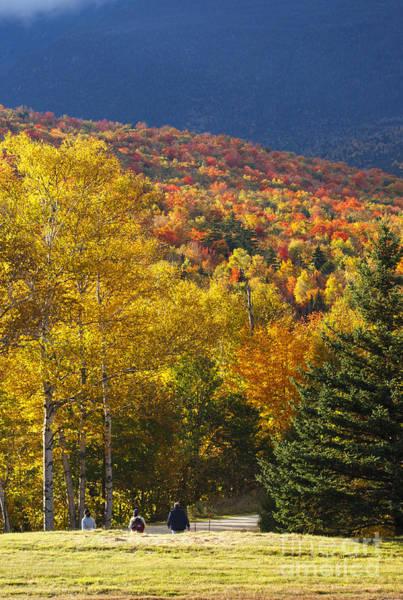 Photograph - Mount Washington Valley - White Mountains New Hampshire Autumn by Erin Paul Donovan