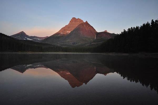 Mount Wilbur, Glacier National Park Art Print