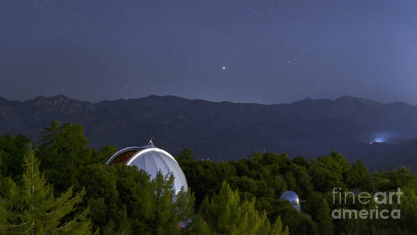 Wall Art - Photograph - Mount Wilson Observatory, California by Babak Tafreshi