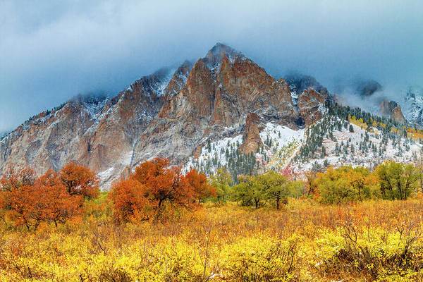 Photograph - Mountain Autumn Color by Teri Virbickis