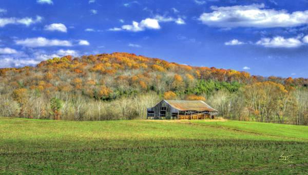Photograph - Mountain Barn by Sam Davis Johnson