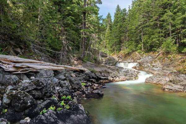 Photograph - Mountain Cascade by Harold Coleman