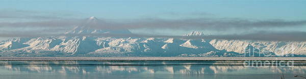 Mount Redoubt Photograph - Mountain Chain by Rick  Monyahan