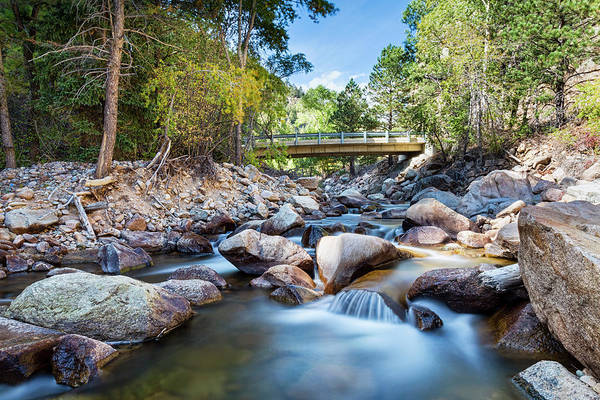 Photograph - Mountain Creek Bridge by James BO Insogna