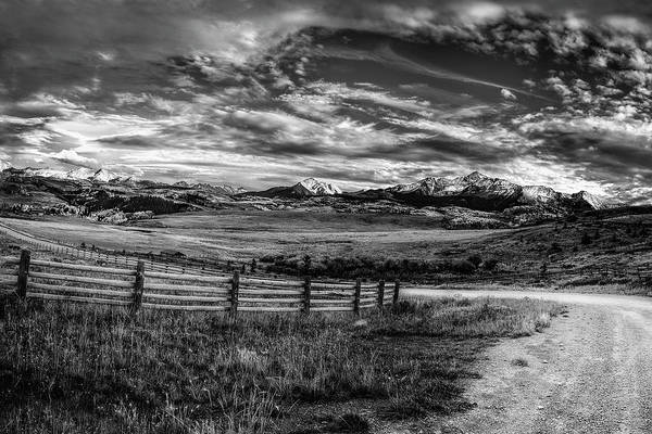 Wall Art - Photograph - Mountain Driveway by Andrew Soundarajan