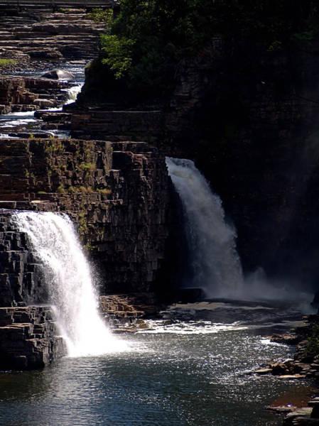 Photograph - Mountain Falls by Newwwman