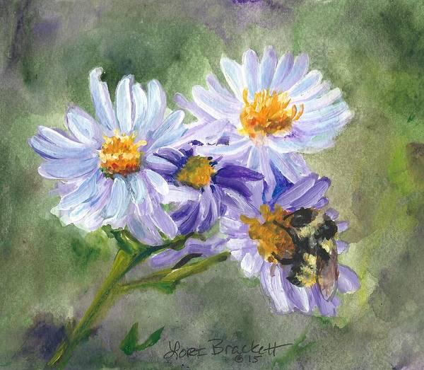 Painting - Mountain Flowers by Lori Brackett