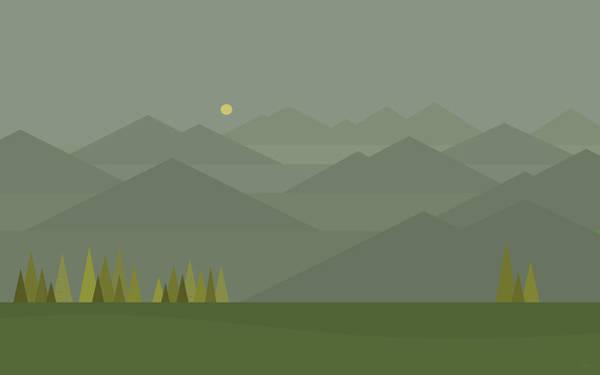 Digital Art - Mountain Fog by Val Arie