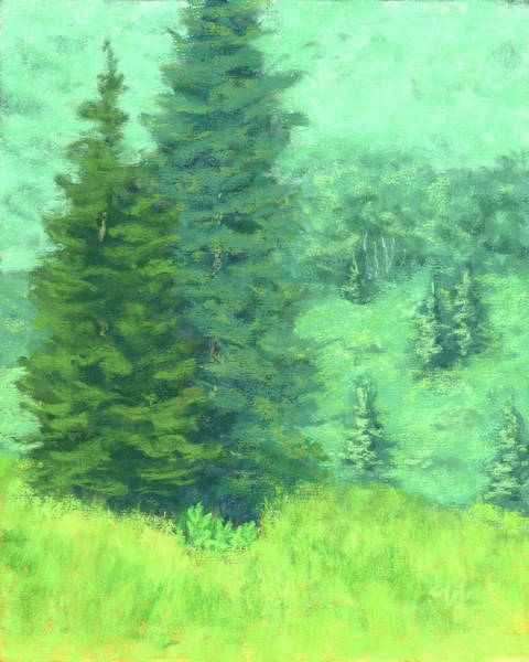 Painting - Mountain Greens by David King