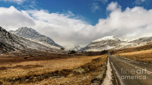 Photograph - Mountain Highway Snowdonia by Adrian Evans