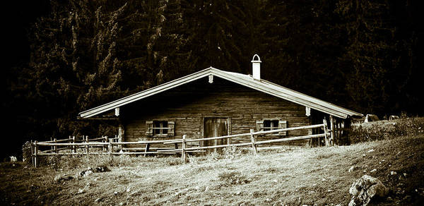 Wall Art - Photograph - Mountain Hut by Frank Tschakert