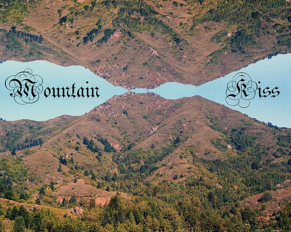 Mountain Kiss  Art Print