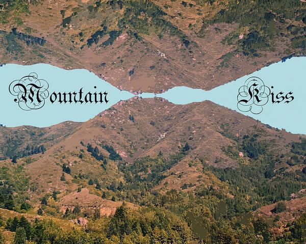 Photograph - Mountain Kiss Enhanced by Ben Upham III