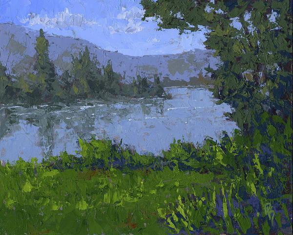 Painting - Mountain Lake by David King