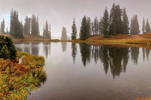 Photograph - Mountain Lake In Colorado Crested Butte by OLena Art - Lena Owens