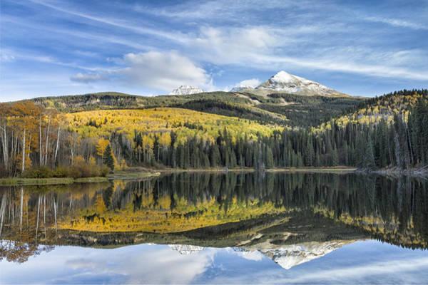 Photograph - Mountain Lake Reflection by Denise Bush