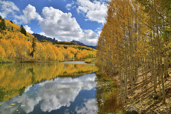 Photograph - Mountain Lake South Of Telluride by Ray Mathis