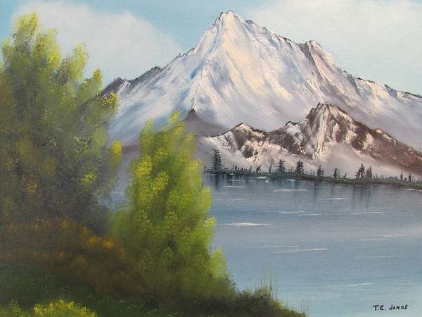 Painting - Mountain Lake by Thomas Janos