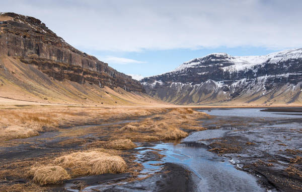 Icelandic Landscapes Wall Art - Photograph - Mountain Landscape Iceland by Michalakis Ppalis