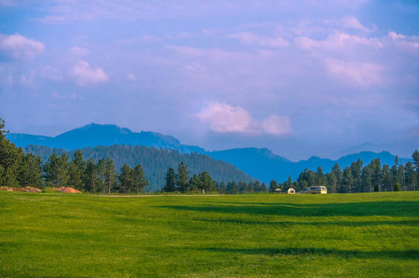 Wall Art - Photograph - Mountain View In Black Hills  by Art Spectrum