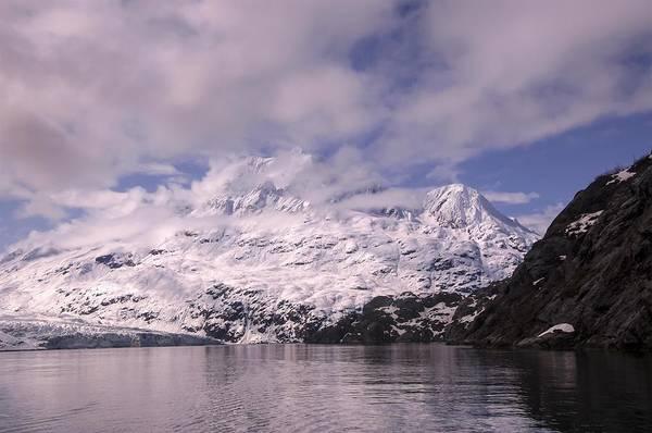 Photograph - Mountain Landscape Near Margerie Glacier by NaturesPix