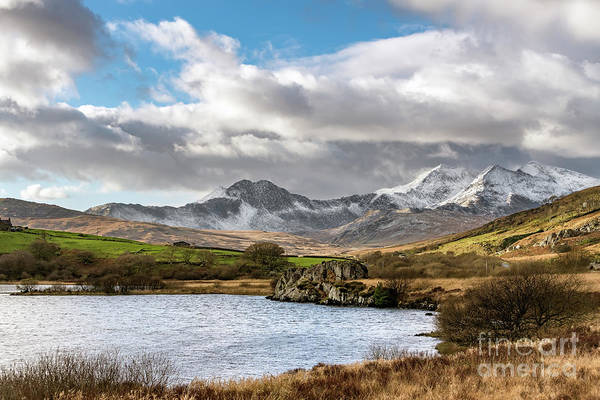Photograph - Mountain Landscape Snowdonia by Adrian Evans