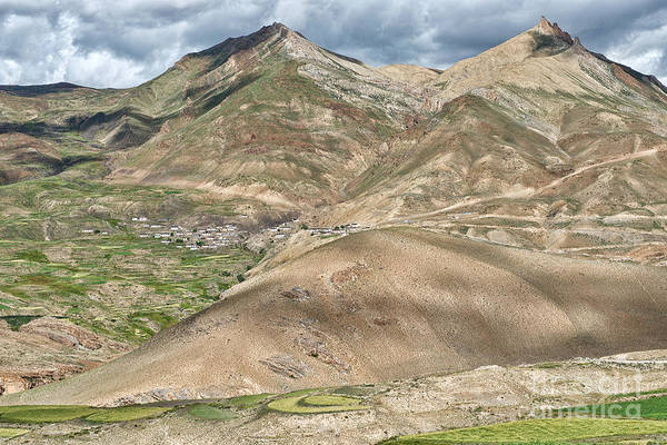Photograph - Mountain Landscape by Yew Kwang