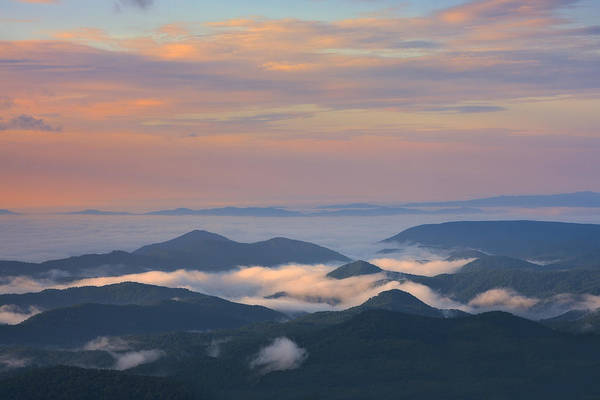 Photograph - Mountain Layer Sunrise by Ken Barrett