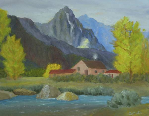 Painting - Mountain Life by Scott W White