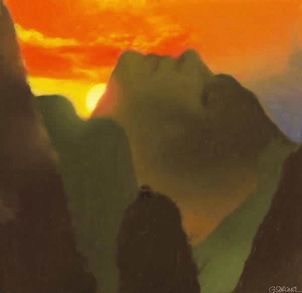Mixed Media - Mountain Magic by Gianni Sarcone