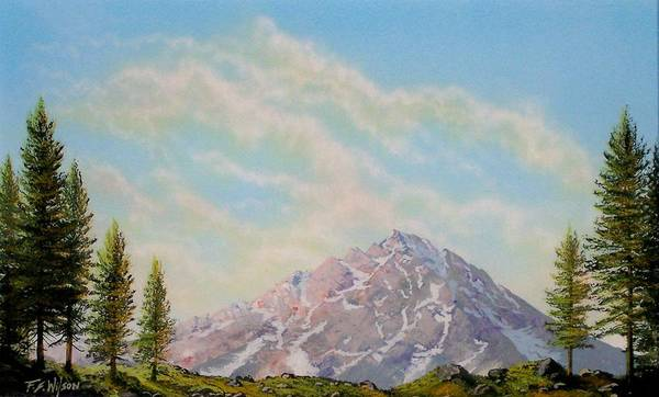 Painting - Mountain Majesty by Frank Wilson