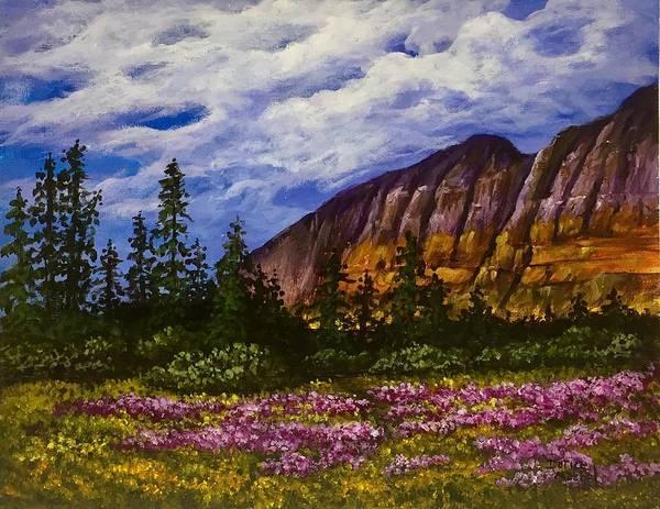 Painting - Mountain Meadow  by Darice Machel McGuire
