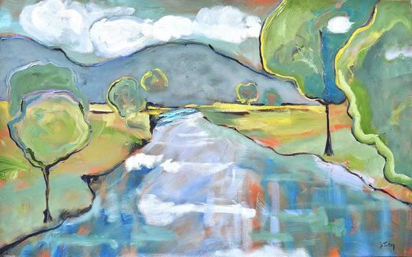 Painting - Mountain Meditation by Donna Tuten