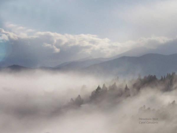 Mixed Media - Mountain Mist by Carol Cavalaris