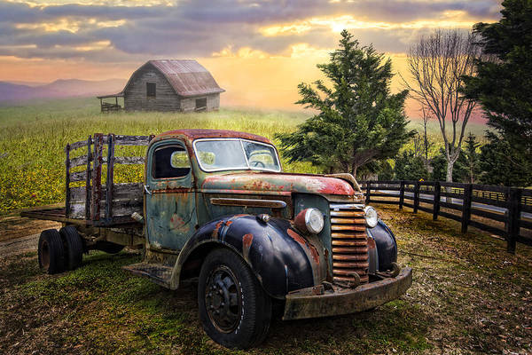 Wall Art - Photograph - Mountain Morning by Debra and Dave Vanderlaan