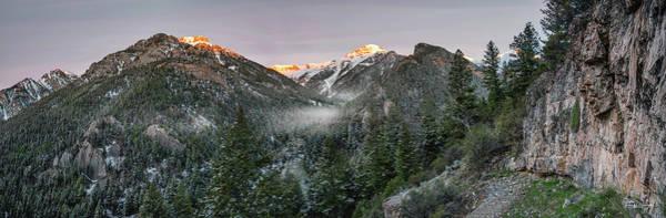 Wall Art - Photograph - Mountain Morning Glow by Leland D Howard