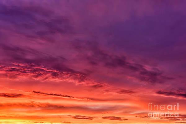Photograph - Mountain Morning Sky by Thomas R Fletcher