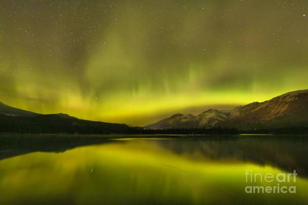Photograph - Mountain Night Lights by Adam Jewell