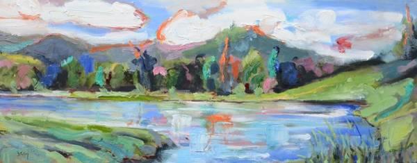 Painting - Mountain Oasis by Donna Tuten