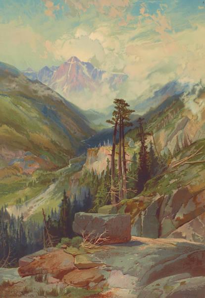 Wall Art - Photograph - Mountain Of The Holy Cross, Colorado 1876 by Ricky Barnard