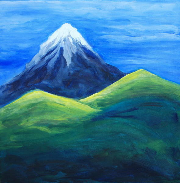 Painting - Mountain Of The Lord by Deborah Brown Maher