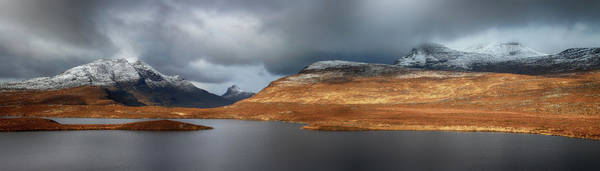 Wall Art - Photograph - Mountain Pano From Knockan Crag by Grant Glendinning