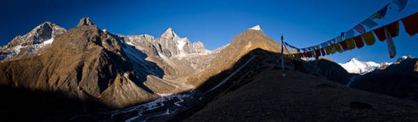 Wall Art - Photograph - Mountain Peak, Kumuche Himal by Panoramic Images
