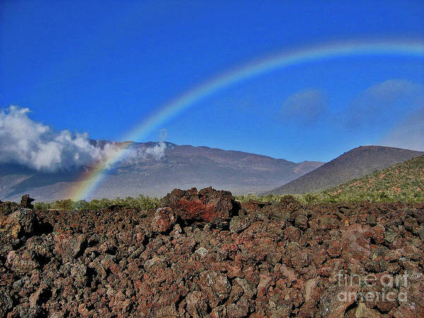 Photograph - Mountain Rainbow by Bette Phelan