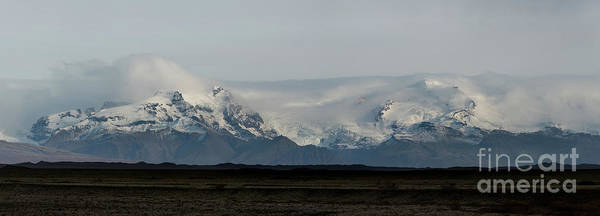 Photograph - Mountain Range In Iceland  by Michael Ver Sprill