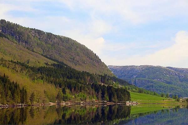 Photograph - Mountain Reflection by Susan Jensen